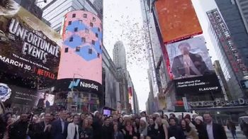NASDAQ TV Spot, 'Welcome Dropbox'