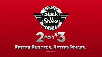 Steak 'n Shake 2 for $3 Value Menu TV Spot, 'Pick Two' - Thumbnail 10