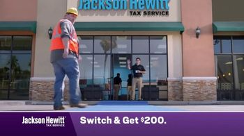 Jackson Hewitt TV Spot, 'Construction Worker: Switch' - Thumbnail 3