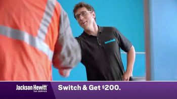 Jackson Hewitt TV Spot, 'Construction Worker: Switch' - Thumbnail 4