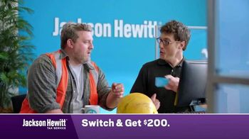 Jackson Hewitt TV Spot, 'Construction Worker: Switch' - Thumbnail 6
