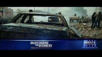 DIRECTV Cinema TV Spot, 'Backstabbing for Beginners' - Thumbnail 1
