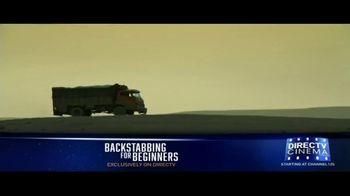 DIRECTV Cinema TV Spot, 'Backstabbing for Beginners' - Thumbnail 2