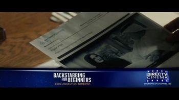 DIRECTV Cinema TV Spot, 'Backstabbing for Beginners' - Thumbnail 3