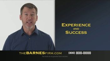 The Barnes Firm TV Spot, 'The Best Result Possible'
