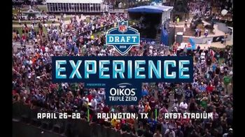 2018 NFL Draft Experience TV Spot, 'AT&T Stadium: Celebration'