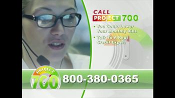Project 700 TV Spot, 'Analyze Your Credit Report' - Thumbnail 4
