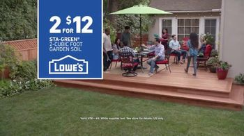 Lowe's TV Spot, 'Good Backyard: Sta-Green' - Thumbnail 10