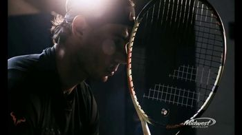 Midwest Sports TV Spot, 'Babolat' Featuring Rafael Nadal - 9 commercial airings