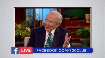 The 700 Club TV Spot, 'Facebook Live: Chat with Pat' - Thumbnail 6
