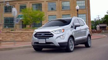 2018 Ford EcoSport TV Spot, 'New York Auto Show: Stay Connected' [T2] - Thumbnail 3