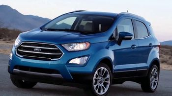 2018 Ford EcoSport TV Spot, 'New York Auto Show: Stay Connected' [T2] - Thumbnail 6