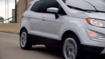 2018 Ford EcoSport TV Spot, 'New York Auto Show: Stay Connected' [T2] - Thumbnail 7