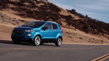 2018 Ford EcoSport TV Spot, 'New York Auto Show: Stay Connected' [T2] - Thumbnail 8