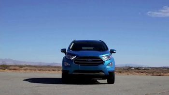 2018 Ford EcoSport TV Spot, 'New York Auto Show: Stay Connected' [T2] - Thumbnail 9