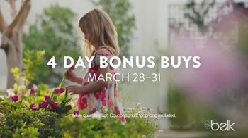 Belk Easter Sale TV Spot, 'Clothes for Spring'