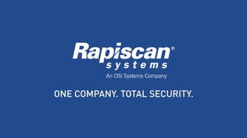 Rapiscan Systems TV Spot, 'Global Leader in Security Screening' - Thumbnail 10