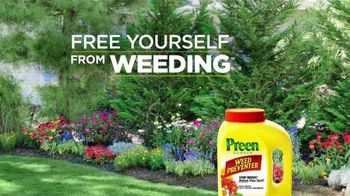 Preen Weed Preventer TV Spot, 'Free Yourself From Weeding' - Thumbnail 6
