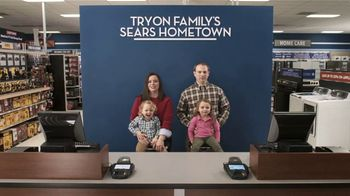 Sears Hometown Store TV Spot, 'Tryon Family'