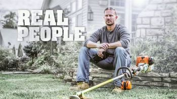 STIHL TV Spot, 'Real People: Trimmers and Pressure Washers' - Thumbnail 1