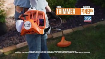 STIHL TV Spot, 'Real People: Trimmers and Pressure Washers' - Thumbnail 6