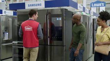 Lowe's TV Spring Black Friday TV Spot, 'The Moment: Select Appliance Values' - Thumbnail 3