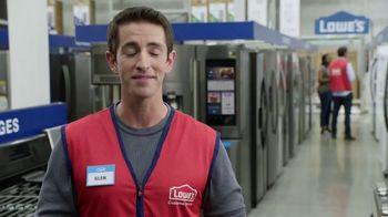Lowe's TV Spring Black Friday TV Spot, 'The Moment: Select Appliance Values' - Thumbnail 5