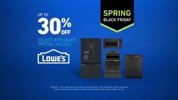 Lowe's TV Spring Black Friday TV Spot, 'The Moment: Select Appliance Values' - Thumbnail 6