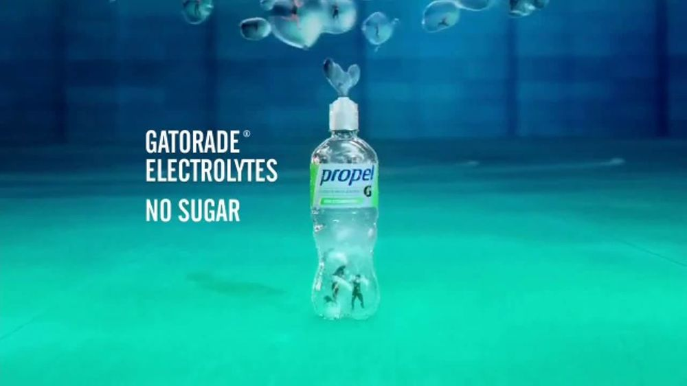 Propel Fitness Water TV Commercial, 'How Gatorade Does Water'