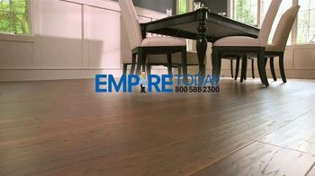 Empire Today 75 Percent Off Sale TV Spot, 'Gigantic Savings on New Floors' - Thumbnail 1