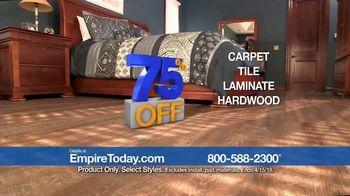 Empire Today 75 Percent Off Sale TV Spot, 'Gigantic Savings on New Floors' - Thumbnail 4