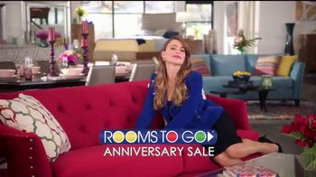 Rooms to Go Anniversary Sale TV Spot, '60 Months'  Featuring Sofia Vergara - Thumbnail 2