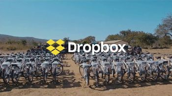 Dropbox TV Spot, 'Empowering Energy: World Bicycle Relief' Song by Woodkid