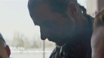 Dropbox TV Spot, 'Empowering Energy: World Bicycle Relief' Song by Woodkid - Thumbnail 4