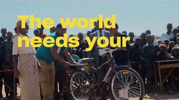 Dropbox TV Spot, 'Empowering Energy: World Bicycle Relief' Song by Woodkid - Thumbnail 9