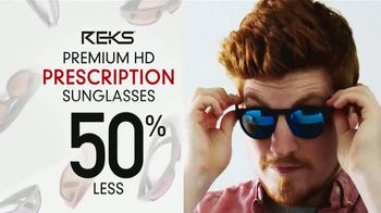 Revolution Golf TV Spot, 'REKS Prescription Sunglasses'