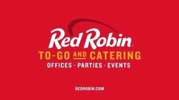 Red Robin To-Go and Catering TV Spot, 'Gourmet Burger Bar' - Thumbnail 8