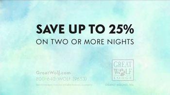 Great Wolf Lodge TV Spot, 'Wink: Save 25 Percent' - Thumbnail 10