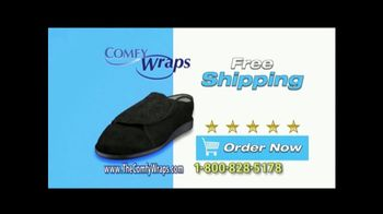 Comfy Wraps TV Spot, 'The Only Slipper You'll Need' - Thumbnail 10