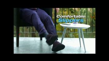 Comfy Wraps TV Spot, 'The Only Slipper You'll Need' - Thumbnail 6