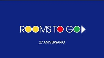 Rooms to Go Venta de Aniversario TV Spot, 'Ofertas' [Spanish] - Thumbnail 1