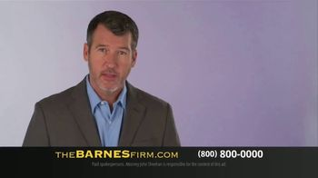 The Barnes Firm TV Spot, 'Medical Bills and Lost Wages' - Thumbnail 1