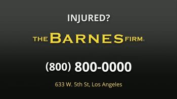 The Barnes Firm TV Spot, 'Medical Bills and Lost Wages' - Thumbnail 6