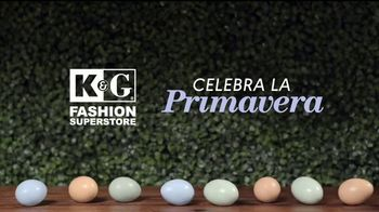 K&G Fashion Superstore TV Spot, 'Celebra la primavera: camisas' [Spanish] - Thumbnail 1