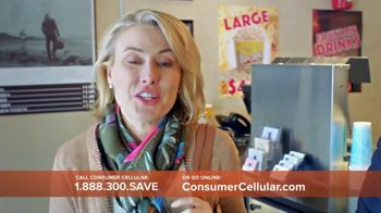 Consumer Cellular TV Spot, 'Matinee Movies: First Month Free'