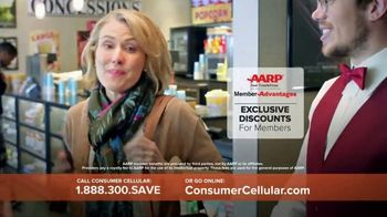Consumer Cellular TV Spot, 'Matinee Movies: First Month Free' - Thumbnail 7