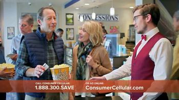 Consumer Cellular TV Spot, 'Matinee Movies: First Month Free' - Thumbnail 8