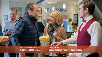 Consumer Cellular TV Spot, 'Matinee Movies: First Month Free' - Thumbnail 9