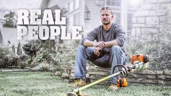 STIHL TV Spot, 'Real People: Hedge Trimmers and Chainsaws' - Thumbnail 1