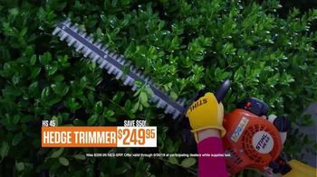 STIHL TV Spot, 'Real People: Hedge Trimmers and Chainsaws' - Thumbnail 5